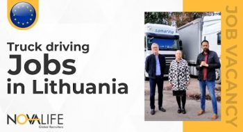 Truck Driving Job Vacancies in Lithuania